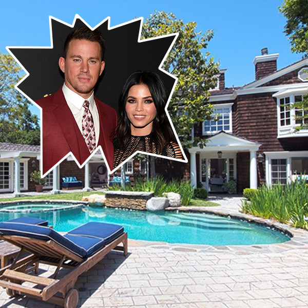Channing Tatum and Jenna Dewan's Beverly Hills Home
