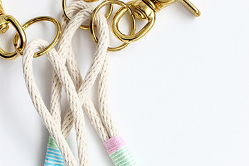 DIY To Try: Rope Tassel Keychains