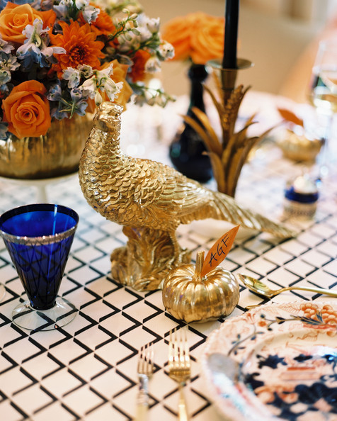 Four thanksgiving centerpieces to inspire you for turkey