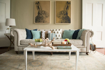 A Neutral New Orleans Apartment with Eclectic Style