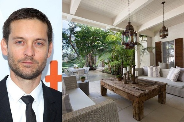 Tobey Maguire's L.A. Family Pad
