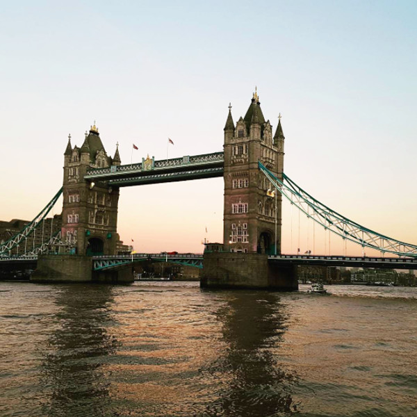 15. Tower Bridge: London, England