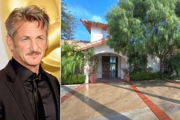 Sean Penn Lists His Malibu Hacienda