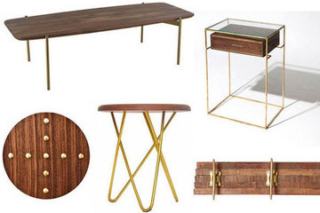 Trend We Love: Wood + Brass