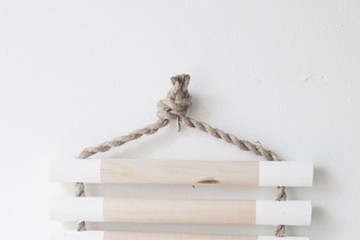 DIY To Try: Wood and Rope Trivet