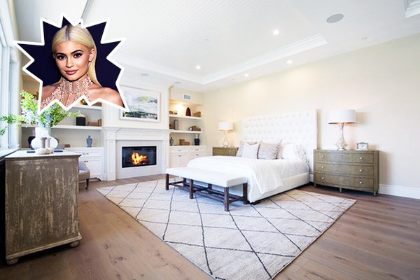 Kylie Jenner - The Best Celebrity Bedrooms - Lonny