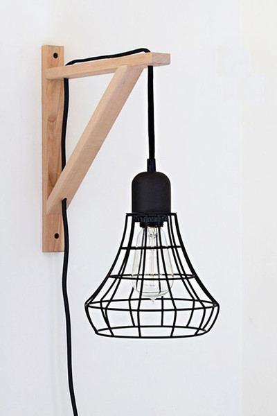 Wire Sconce