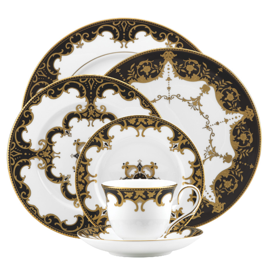 (Photos courtesy of Marchesa)Celeb-loved fashion label Marchesa is no stranger to opulent luxury and the brandu0027s two new tabletop designs for Lenox are no ...  sc 1 st  Lonny & Marchesau0027s New Oscars-Party-Worthy Tabletop Collections - Scout Out ...