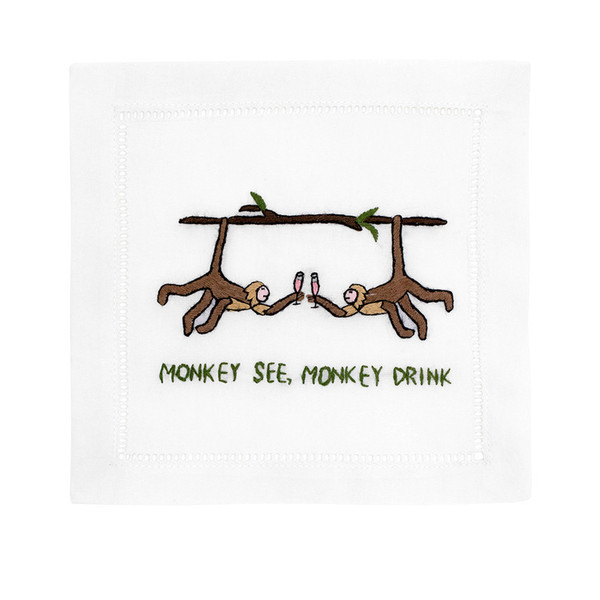 Monkey Cocktail Napkins