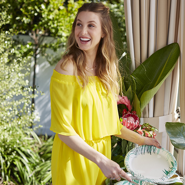 Whitney Port Gets Cheeky With This Party Supply Collab
