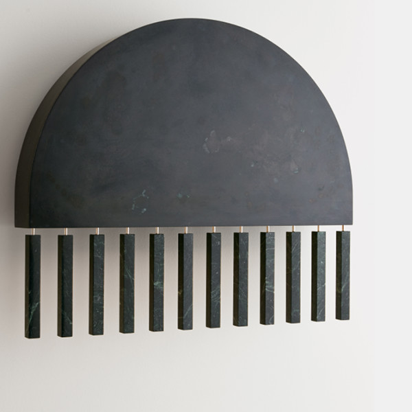 Pelle Dark-Moon Sconce