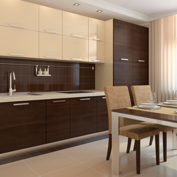 Classy cabinets cool kitchen ideas lonny for Classy kitchen cabinets