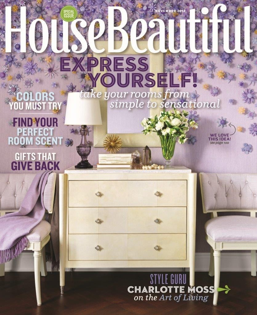 House Beautiful Mag we bow down: charlotte moss guest-edits house beautiful - design