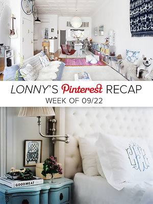 Lonny's Top Pins of the Week: Lofted and Tufted