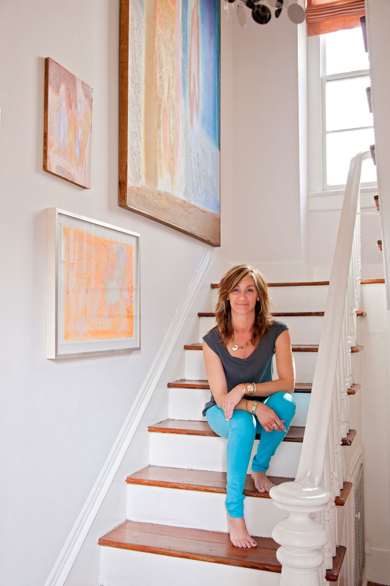 Angie Hranowsky a small charleston rental that feels like home - small spaces - lonny