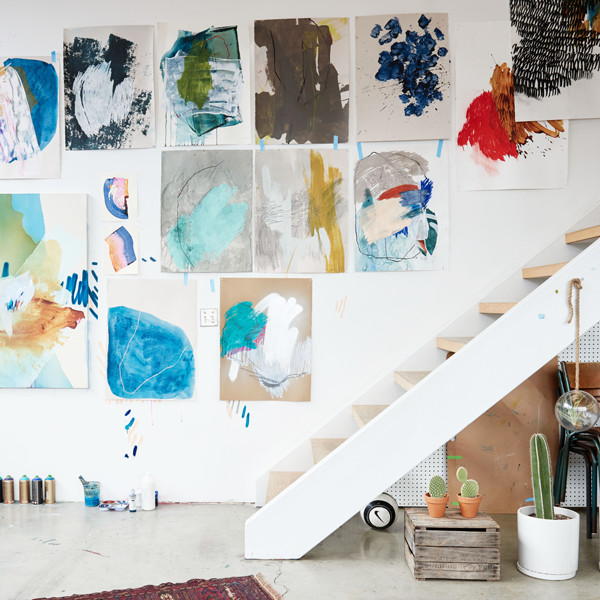 10 Frame-Less Ways to Display Art