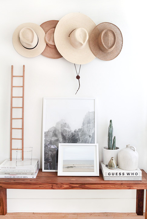 Hanging Out - 15 Ways To Style Your Accessories As Decorative Objects - Lonny
