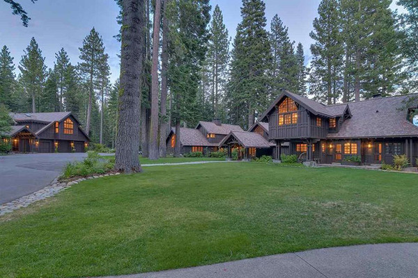 Real Estate Gold - Inside Mark Zuckerberg's $59 Million Lake Tahoe Compound - Lonny