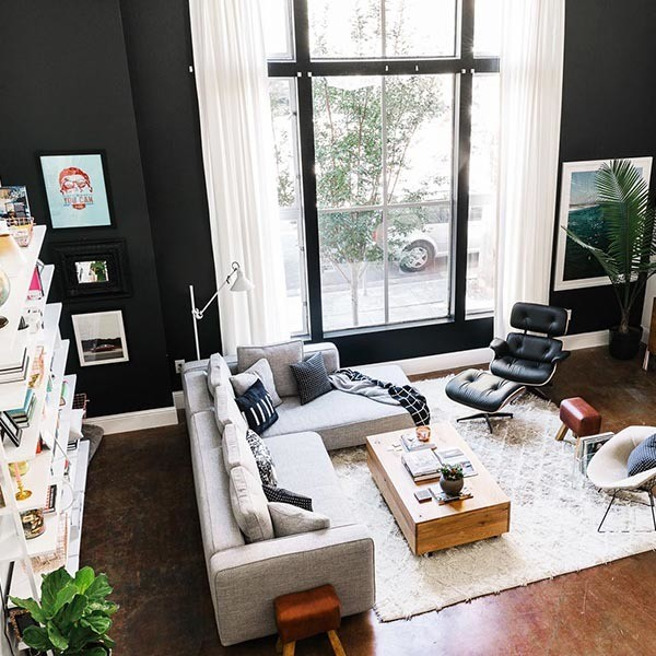 These Dramatic Rooms Make Us Want To Go Back To Black