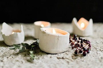 DIY To Try: Perfectly Imperfect Votives