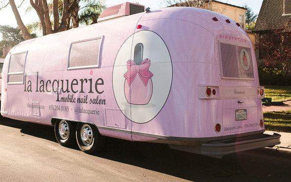 The Cutest Nail Salon Ever On Wheels