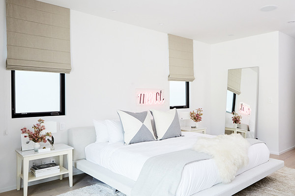 Bedroom Vibes Jen Atkin S Home Is A Glam Minimalist Haven