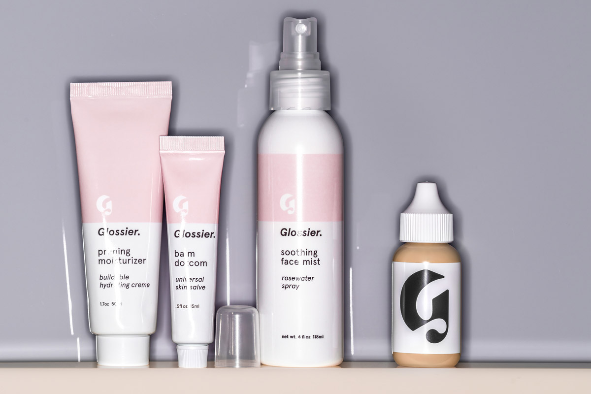 The Glossier Phase 1 Set.