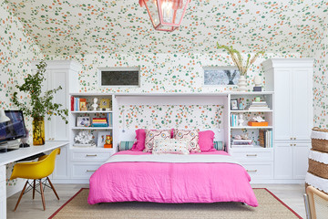 Inside A Jewelry Designer's Colorful And Pattern-Filled WFH Pad