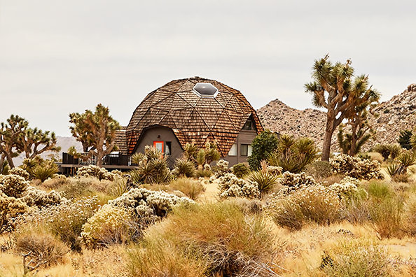 This Desert Dome House Is Filled With Technicolor Treasures