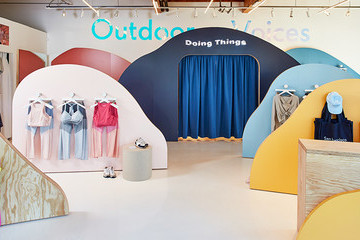 Outdoor Voices Is Doing Things At Its New Marin Pop-Up