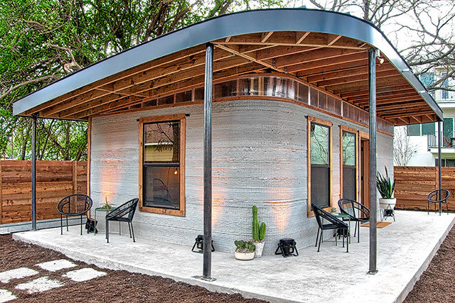 America's First 3D Printed Home Is Small Space Goals
