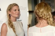 Learn how to tie a romantic, side-swept braid