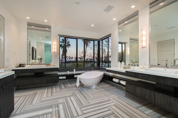 5 Industrial Bathroom Design Ideas To Glam Up Your Home: Rihanna Dropped $6.8 Million On A Glam L