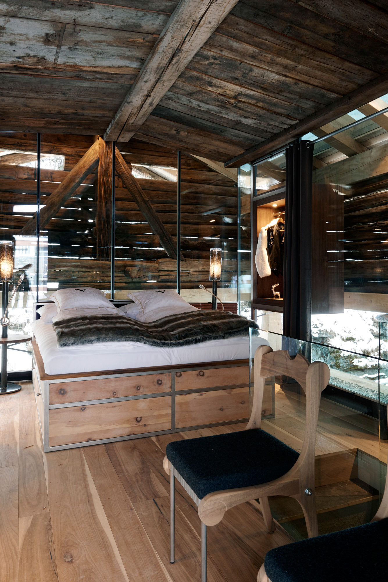 barn office designs. A Glass-enclosed Bedroom Snuggles Inside 15th-century Hay Barn, Attached By Barn Office Designs