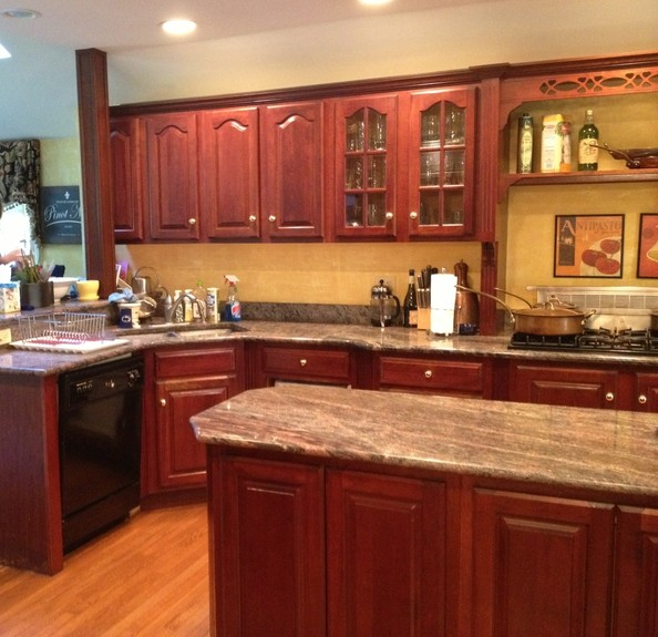 Before + After: A Glamorous Kitchen Renovation