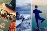 Celebrity Vacations on Instagram