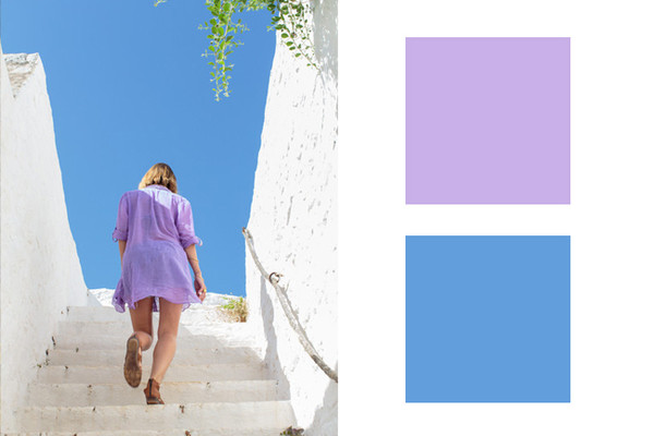 wisteria sky blue perfect designer approved color combinations