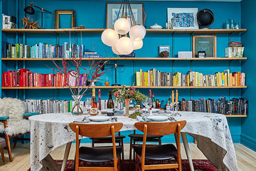 Inside The Bold Upstate Home Where Leftovers Reign Supreme