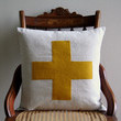 Swiss Cross Throw Pillow Cover