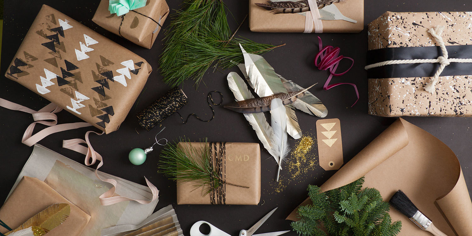 Wrapping supplies and packages
