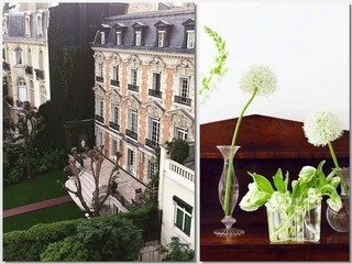 Interiors Inspiration, a Secret Garden in Paris, and a Downton Abbey Manor on the Market