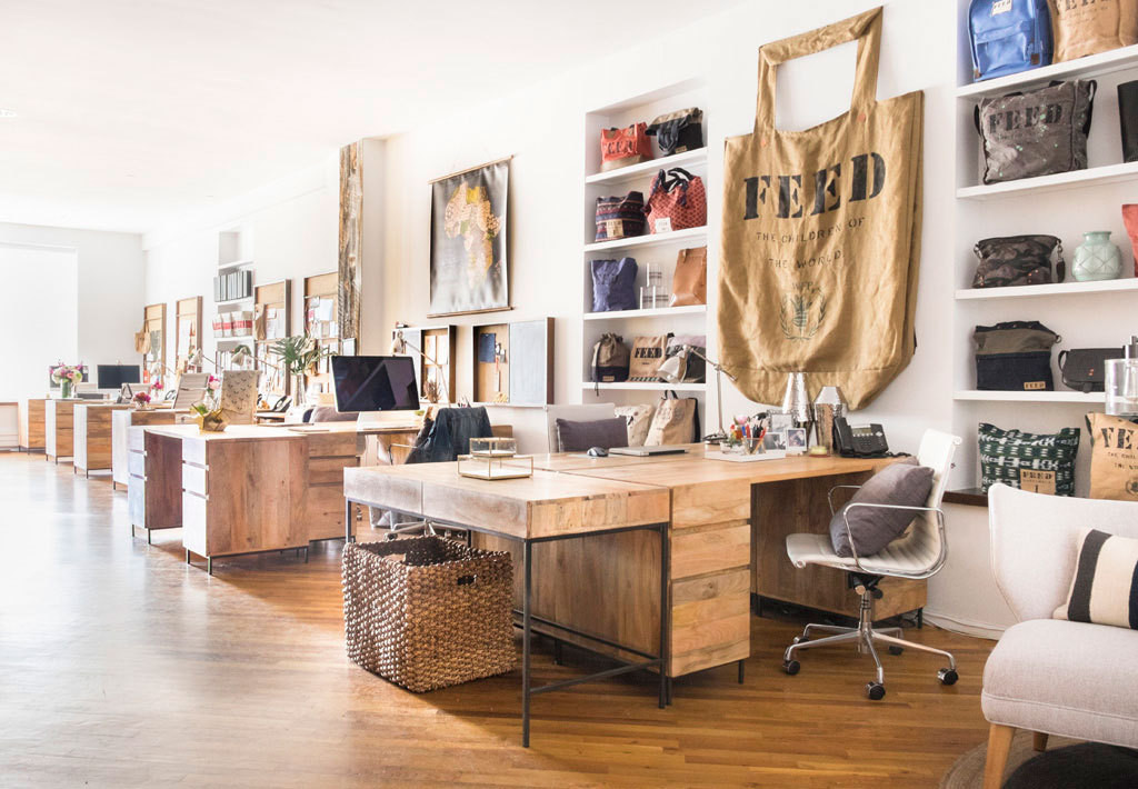 Well Liked FEEDu0027s NYC Office Gets A Modern Rustic Makeover   Decorating    Lonny