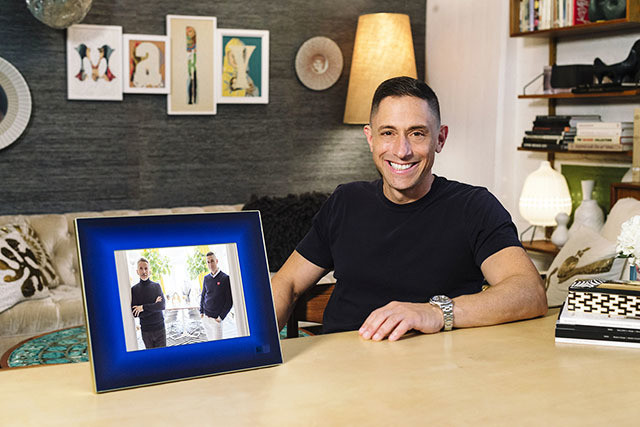 This Jonathan Adler Designed Picture Frame Is So High Tech