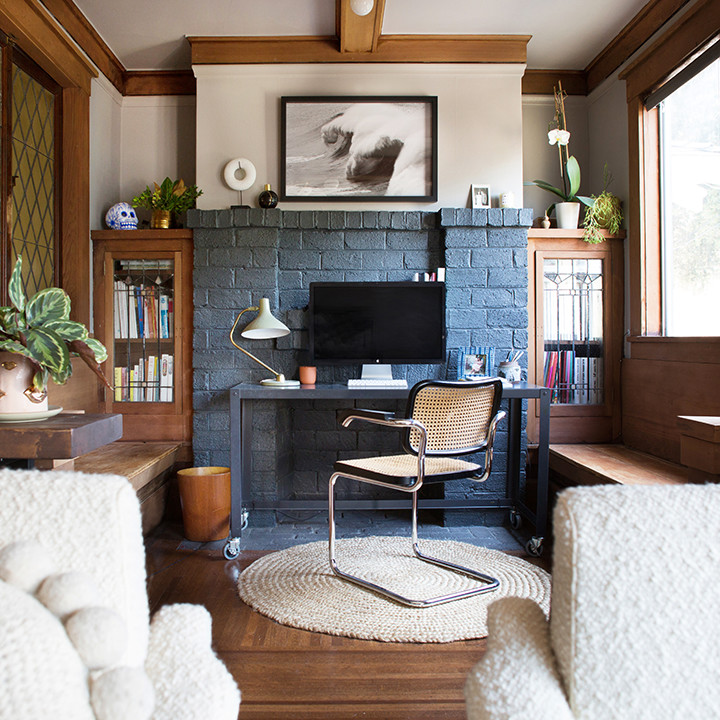 How to create a home office when you live in a small space - Creating a small home office ...