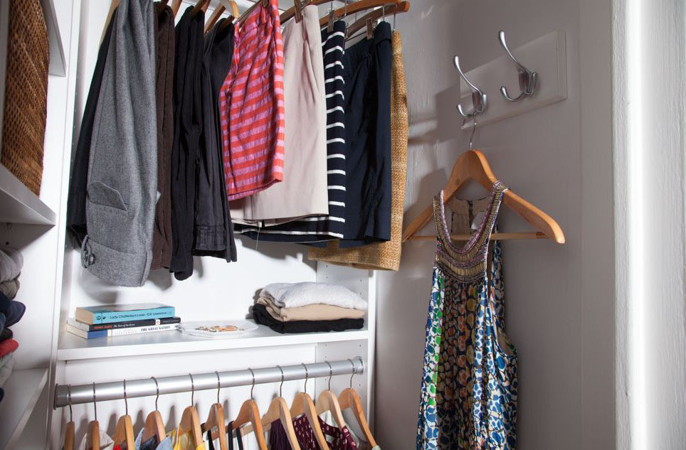 Before After An Editors Closet Makeover