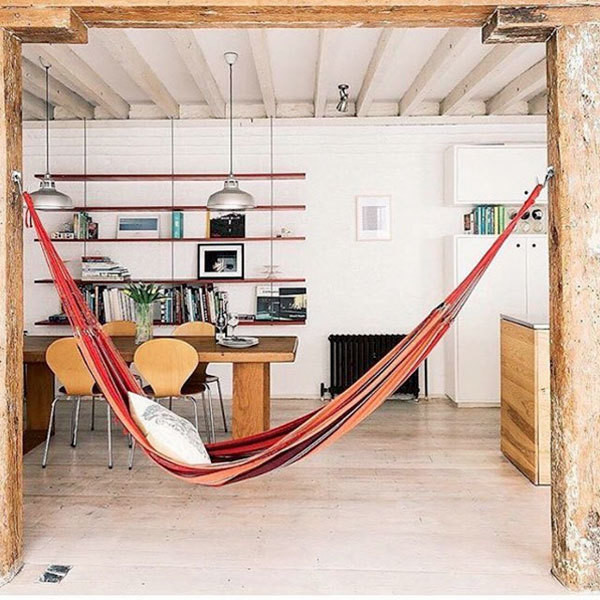 15 Indoor Hammocks That Are SO Cool