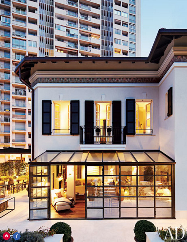 A Monte Carlo pied-a-terre by Timothy Whealon via Architectural Digest.