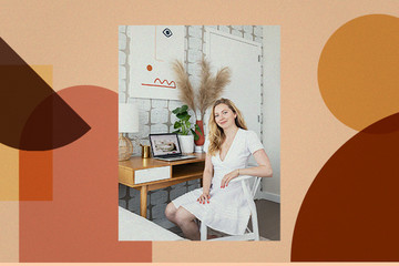How Lonny's Editor Crafted A Stylish WFH Space In Her Bedroom