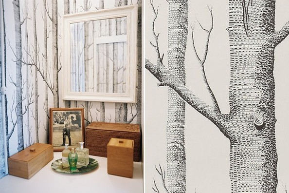 Cole & Son\'s Woods - Cult Status Wallpapers - Lonny