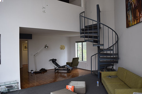 An Outdated U002780s Condo Gets An Incredible Facelift · Before: Living Room